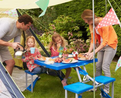 Kamperen met het gezin bij Familiecamping De Kleine Wielen