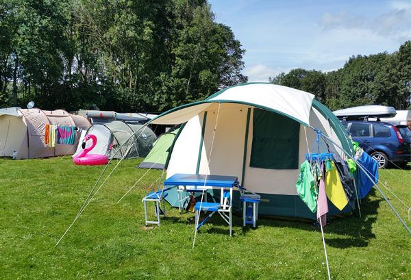 Kamperen in Friesland bij Familiecamping De Kleine Wielen