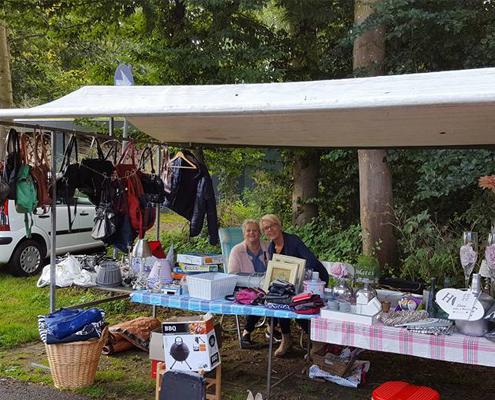 Zomermarkt bij Familiecamping De Kleine Wielen